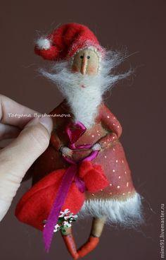 Морозный дед - новогодний подарок,дед мороз,санта клаус,морозный дед,ароматизированная игрушка