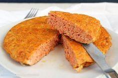 Tortilla de zanahoria y atún