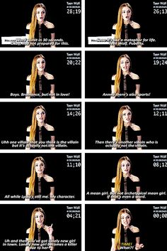 Teen Wolf in 30 seconds with Holland Roden