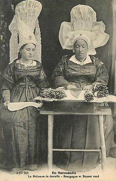 dentelle 08 une dentellière en 1910