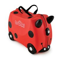 Trunki Ride-on Suitcase Harley the Ladybug/Ladybird (Red) This is among the hot selling products in Luggage category in UK. Click below to see its Availability and Price in YOUR country. Childrens Luggage, Kids Luggage, Hand Luggage, Carry On Luggage, Travel Luggage, Luggage Bags, Kids Ride On, Harley, Baby Online
