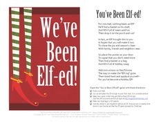 You've Been Elfed - Red