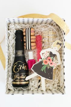 Will you be my bridesmaid basket: http://www.stylemepretty.com/2014/08/14/10-more-of-our-fave-wedding-diys/