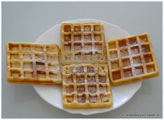A casa da gigis: Waffles - Receita Yami