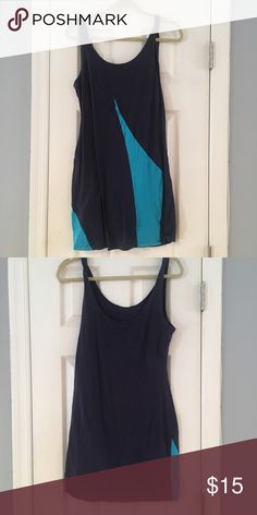 Sparkle & Fade Bodycon Dress Sparkle & Fade bodycon dress from urban outfitters! Great for going out or layering under a large sweater. Super soft material and has fun bright blue stripes Urban Outfitters Dresses Mini