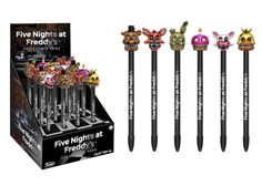 Five Nights at Freddy's Pop! Pens Complete Set All 6 from Wave 2