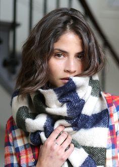 Sézane / Morgane Sézalory - Collection Lifestyle - Bonny scarf - #sezane www.sezane.com