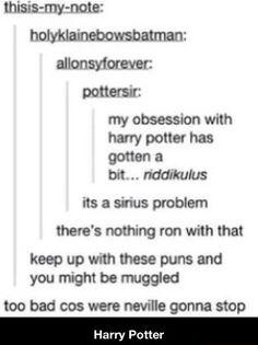 Harry Potter tumblr post.