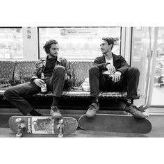 (12) Tumblr boys,  #black and white  #skate