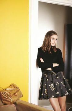 Olivia Palermo  for Vogue Girl Korea. Jill Stuart Campaign. September 2012 issue