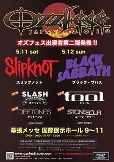 #Ozzfest #Japan - 2013