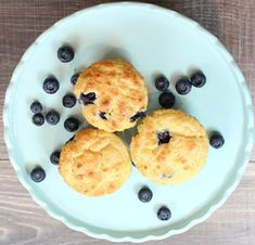 Keto Low Carb Blueberry Muffins