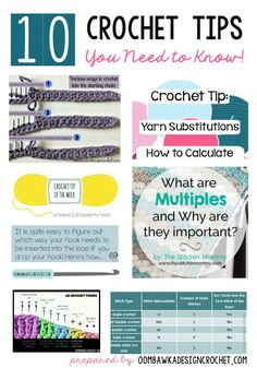 10 Tips from Rhondda that she has picked up over the years. We all have a Toolbox of tricks that we have learned or picked up along the way. Sometimes we remember where we got them from and other times we have been doing this for years and forgot if we fi Crochet 101, Crochet Tools, Crochet Chart, Crochet Basics, Crochet For Beginners, Learn To Crochet, Love Crochet, Crochet Stitches, Crochet Projects