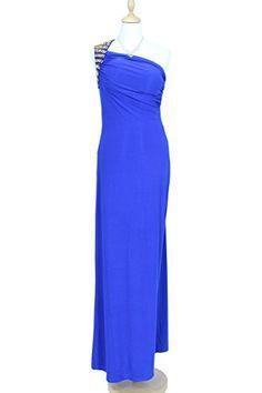 KAJ Moden Langes Designer Abendkleid Cleopatra mit Perlen und Y-Träger blau Gr. S/M KAJ Moden http://www.amazon.de/dp/B00OBKUDO8/ref=cm_sw_r_pi_dp_UvJyub1D6FSVQ