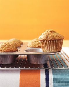 Carrot Muffins from Martha Stewart. Been in a real muffin mood lately.