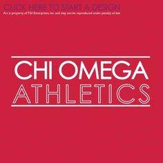 Chi Omega | Chi O | ΧΩ | Intramural | Sorority Intramural | TGI Greek | Greek Apparel | Custom Apparel | Sorority Tee Shirts | Sorority T-shirts | Custom T-Shirts