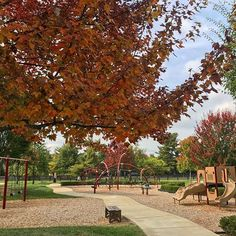 Today was another beautiful, warm fall day in the neighborhood. Hope you spent some time outside, tomorrow's forecast doesn't look as pleasant. #warmday #fall #fallleaves #parkweather #playground #nortoncommonsstyle #louisvilleweather #ourview #louisvilleky #sharelouisville #nortoncommons