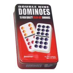 Double Nine Color Dot Dominoes
