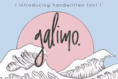 Galimo Font Duo by Mellow Design Lab on @creativemarket