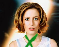 "Gillian Anderson - ""Ya gotta be kidding me"" stare."