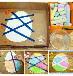 easter crafts for toddlers & easter crafts ; easter crafts for kids ; easter crafts for toddlers Easter Crafts For Toddlers, Spring Crafts For Kids, Toddler Crafts, Kids Crafts, Easter Activities, Bunny Crafts, Sensory Activities, Summer Crafts, Decor Crafts