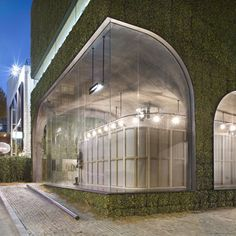 Ann Demeulemeester Shop in Seoul   by Mass Studies