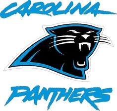 Carolina Panthers Keep Pounding Die Cut Decal Sticker