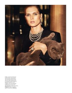 1a6557a78f14f Vogue Parirs June July La Feline Vogue Paris