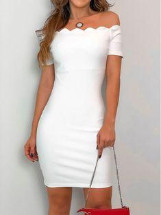 Vestido-Nuvem-Reveillon-Off Cute Fashion, Fashion Models, Girl Fashion, Fashion Dresses, Fashion Tips, White Dress, Striped Dress, Hot Outfits, Pretty Outfits