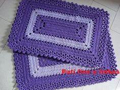 Αποτέλεσμα εικόνας για tapete de croche para cozinha
