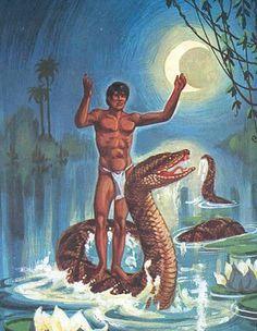 Cobra Norato   Honorato é, segundo uma lenda do Pará, um rapaz encantado em uma cobra-grande, que habita o fundo do rio e que a noite vira gente novamente.