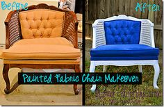 dozens of painted chair makeovers with instructions (multiple methods too)