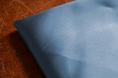 Airforce Satin Silk Interiors Fabric