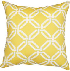 another yellow pillow
