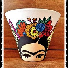 Idea Of Making Plant Pots At Home // Flower Pots From Cement Marbles // Home Decoration Ideas – Top Soop Flower Pot Art, Flower Pot Design, Flower Pot Crafts, Clay Pot Crafts, Painted Plant Pots, Painted Flower Pots, Pottery Painting, Ceramic Painting, Mini Vasos