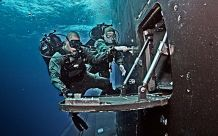 Navy divers and special operators conduct Training