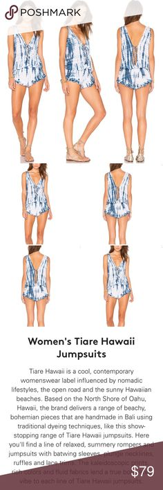 🔥TIARE HAWAAII BARRIER REEF MINI ROMPER🔥NWT🔥 🔥TIARE HAWAAII BARRIER REEF MINI ROMPER🔥NWT🔥BRAND NEW, UNWORN, WITH ORIGINAL TAGS ATTACHED🔥OS🔥BY TIARE HAWAAII FROM REVOLVE/LF🔥THE CUTEST LIL SKIMPY MINI SUMMER ROMPER EVER! SO SOFT & SWEET!🔥COLOR IS NAVY & WHITE SABINE(AS PICTURED ABOVE)🔥PLEASE NO TrADES, NO HOLDS, NO MODELING & NO RETURNS🔥 Tiare Hawaii Pants Jumpsuits & Rompers