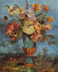 Art# Dora Carrington: Flowerpiece (1932) Fonte: peira