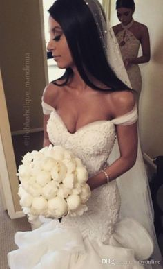 Glamorous 2016 Fashion Mermaid Wedding Dresses Tiered Skirts Off The Shoulder Sexy Bridal Gowns Lace Ruffles Pearls Wedding Dress Ba0806 Bridal Dresses Cheap Wedding Dresses From Babyonline, $259.69| Dhgate.Com
