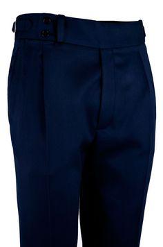 Pantalón P3 2P TA 8960 - Azul Tinta #pantalones #casual #hombre #trousers #men #gentleman #style #lopezaragon #spain #menswear #menstyle #handmade #wool #estiloespañol #bespoke #fattoamano #menwithclass #fashion #dapper