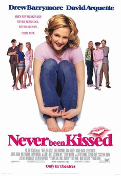 Never Been Kissed Starring: Drew Barrymore David Arquette Michael Vartan James Franco Molly Shannon Garry Marshall and Jessica Alba Comedy Movies List, Romantic Comedy Movies, Movie List, Netflix Movies, Watch Movies, Chick Flick Movies, Chick Flicks, Girly Movies, Teen Movies