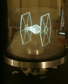 Hologram projector - USC Lab Creates 3-D Holographic Displays, Brings TIE Fighters to Life