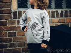 """Wonderful pullover out of """"Regndroppar"""" from pipapocoloco"""