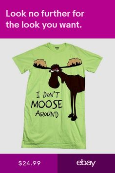 1f591ab99 10 Best Moose Themed Pajamas and Slippers images | Lazy, Slipper ...