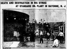 Bayonne Retro: The Standard Oil Strike of 1915 (The Headlines)