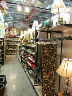 Lamps, Linens, Candles and More!