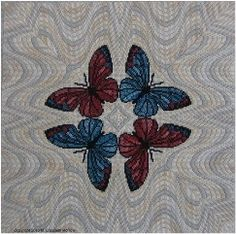 Liz Morrow - 4 Way Butterflies
