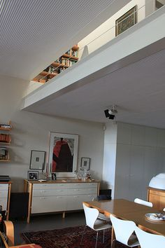 By Glenn Murcutt; Murcutt does not like solid columns, so he designed a very light looking column that does not block too much view or light and still holds up the floor slab for the master bedroom. Floor Slab, Arch Model, Small Buildings, Alvar Aalto, Pool Houses, Art And Architecture, Masters, House Ideas, Australia