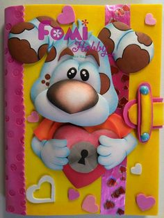 Foam Crafts, Paper Crafts, Blue Nose Friends, Decorate Notebook, Boyfriend Anniversary Gifts, Diy Home Crafts, Kids Cards, Boy Or Girl, Decoupage