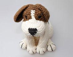 Azor the beagle puppy amigurumi pattern by StuffTheBody